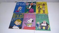 LINUS / PEANUTS SNOOPY ANNATA 1988 COMPLETA di 12 volumi + almanacco