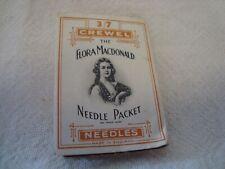 Vintage Packet Flora Macdonald Crewel Sewing Needles