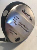 "J Tour Edge Lift-Off Hyper Steel 7 Wood 21* RH 43.5"" R Flex Graphite Golf Club"
