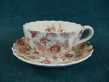 Copeland Spode Rosebud Chintz Cup and Saucer Set(s)
