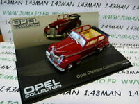 OPE80R 1/43 IXO eagle moss OPEL collection n°63 OLYMPIA CABRIOLET 1951/1953