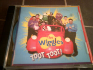 THE WIGGLES Toot Toot  ABC For Kids 1998  CD