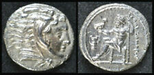 Alexander III the Great, Solid Silver Hemidrachm Coin