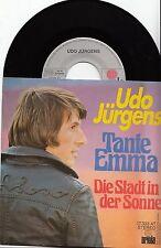 """Udo Jürgens - Tante Emma/Die Stadt in der Sonne, 7"""" Single  1976"""