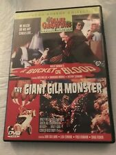 Bucket of Blood & Giant Gila Monster Hollywood Horror Collection DVD