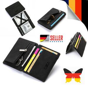 Magische Brieftasche Magic Wallet Slim Geldbörse Portemonnaie Etui m. Münzfach