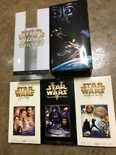 Star Wars Trilogy VHS, 2000, Return Of The Jedi, A New Hope, Empire Strikes Back