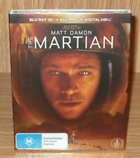 The Martian 3D Blu-ray + Blu-ray 2-Disc Set Brand New & Sealed
