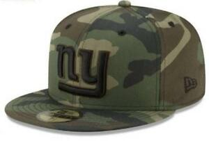 Official NFL New York Giants New Era Woodland Prism 59FIFTY Fitted Hat
