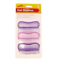 Scrubbing Brush For Hands Nails Feet Foot Cleaning Nylon Stiff Bristles Plastic