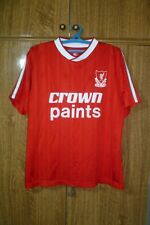 Liverpool FC Football Retro Shirt Home 1987/1988 YNWA Red Jersey Men Size L