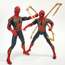 Iron Spider Man Action Figure Infinity War Toy Model Marvel Spiderman Avengers