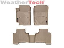 WeatherTech Floor Mats FloorLiner - Suzuki Grand Vitara - 2006-2013 - Tan