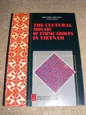 Cultural Mosaic Of Ethnic Groups In Vietnam Nguyen Van-Huy PB book 1998