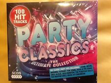 PARTY. CLASSICS.     ULTIMATE COLLECTION.   FIVE COMPACT DISCS.     100.  TRACKS