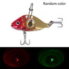 led light fishing lure treble hook electronic fishing lamp bait fish lure light