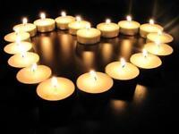 100x WHITE UNSCENTED TEALIGHTS CANDLES 4HR 8HR 10 HR HOUR BURNING TIME TEA LIGHT