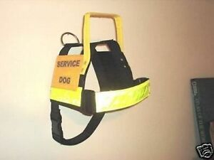SERVICE DOG TRAINING HARNESS FOR THE HANDICAPPED CUSTOM MADE LOOK !!!!!!!!!!!!!!