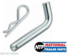 """HITCH PIN & R CLIP - 16MM 5/8"""" TOWBAR TOW BAR TOWING 4WD TRAILER BALL MOUNT BOAT"""