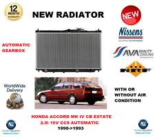 für Honda Accord Kombi Mk IV CB 2.0I 16V CC9 Automatik 1990- > 1993 NEU Kühler