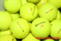 20 Taylormade Project (a) Yellow Mint Condition GolfBalls