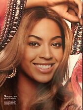 Beyonce Knowles 4pg + cover SELF magazine feature, clippings
