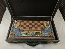 Persian Backgammon/Chess 100% Original Khatam Handcraft - Luxury Limited Edition