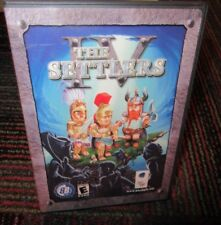 THE SETTLERS IV PC CD-ROM GAME, BLUE BYTE GAME CHANNEL, GREAT STRATEGY GAME,GUC