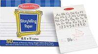 "New!! Melissa & Doug Storytelling 8.5""x11"" Paper Pad - Free Shipping!!"