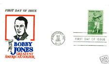 1933 Bobby Jones Jack Davis, FDC