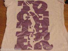 "Girls Nike youth t shirt ""Together"" 6X 369055 White NWT*^"
