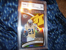 Calvin Johnson GRADED ROOKIE!!!! Gem Mint 10! Press Pass #PP11 Insert Megatron!