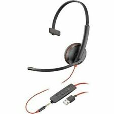 Plantronics Computer Headsets With Microphone Mute Button For Sale In Stock Ebay