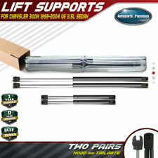 4x Hood+Tailgate Trunk Lift Supports Shock Struts for Chrysler 300M 1999-2004
