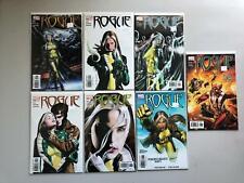 Lot of 7 Rogue (2004-2005 Marvel) 3rd Series #2-8 NM Near Mint