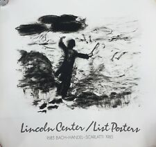 Susan Rothenberg Lincoln Center Poster, limited edition