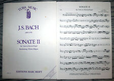 Sonate II - Bach / Hilgers - Tuba and piano