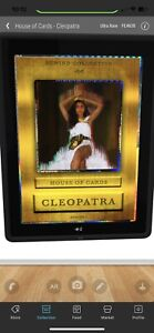 VeVe Cleopatra FE #638/999 UR - GIVENCHY House of Cards S1 NFT *SOLD OUT*