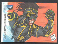 DC COMICS: THE NEW 52 (Cryptozoic/2012) SKETCH CARD by CHRIS FOREMAN