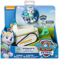 PAW Patrol Everest's Snowmobile Pup & Vehicle Toy Action Kids Figures Gift NEW