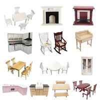 Various Doll House Furniture Kitchen Accessory For 1:12 Dollhouse Miniature Lot