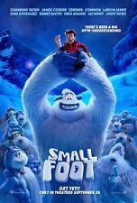 Smallfoot Movie Poster (24x36) - Zendaya, Channing Tatum, James Corden v1