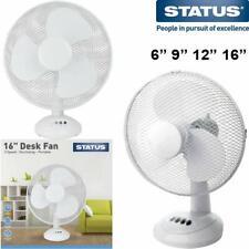ELECTRIC ventilateur de bureau Oscillant Cool Air Breeze Silencieux Portable Home Office Cooler