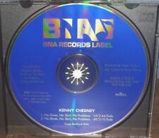 KENNY CHESNEY NO SHOES NO SHIRT NO PROBLEMS 2 TRACK PROMO CD SINGLE