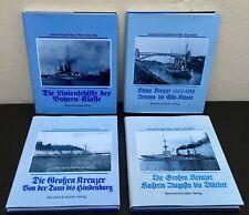 Sammlung 4 Bücher über Grosskampfschiffe von Gerhard Koop + Klaus-Peter Schmolke