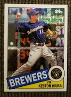 2020 Topps Silver Milwaukee Brewers Keston Hiura 85C-22