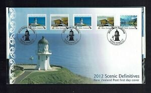 New Zealand: 2012 Scenic Definitive, Retail Pack with FDC and Mint set