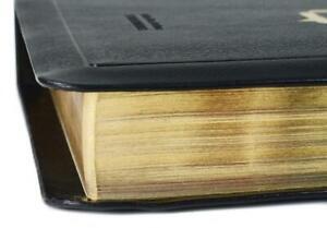 MacArthur Studienbibel - Schlachter 2000 Rindsleder schwarz, Goldprägung, Goldsc