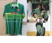 Cricket Classic World Cup 1996 Pakistan New ODI Shirt Jersey Short Long Sleeves