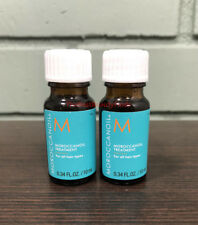 Moroccanoil Hair Treatment .34oz ( 2 PACK ) MINI Sample Bottles - NEW & FRESH!